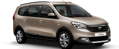 Dacia Lodgy se vinde in Franta cu un pachet off-road