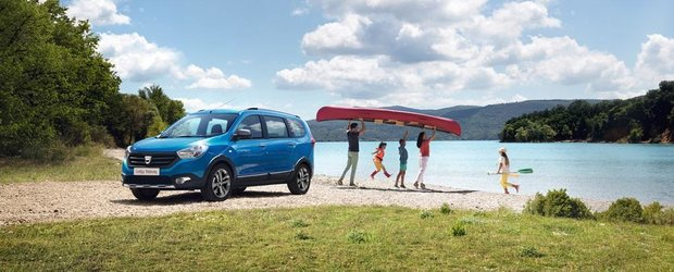 Dacia Lodgy Stepway si Dokker Stepway, disponibile in Romania de la 12.500 Euro
