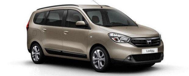 Dacia Lodgy va avea 4 airbag-uri in dotarea standard