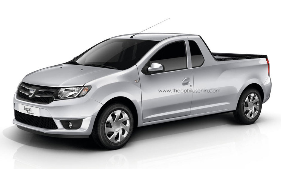 Dacia Logan 2 Pick-up: reala sau nu?