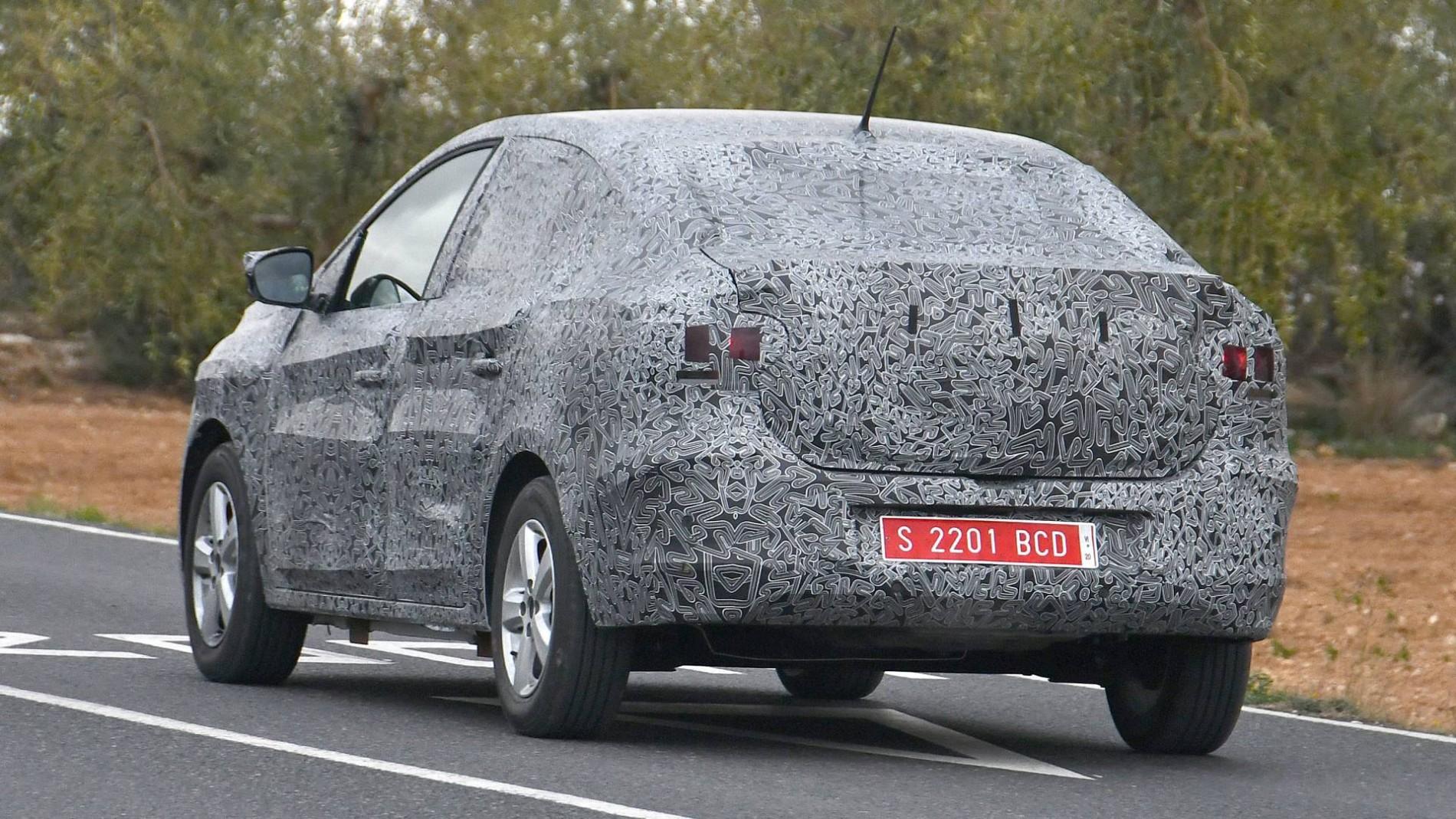 Dacia Logan 3 - Poze spion - Dacia Logan 3 - Poze spion