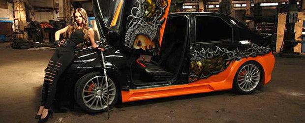 Dacia Logan by Calin - Tuning extrem pentru berlina autohtona