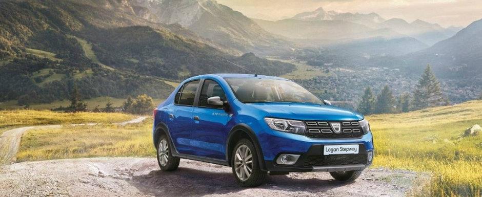 Dacia Logan, de-acum si intr-o versiune Stepway. Uite cat costa in Romania