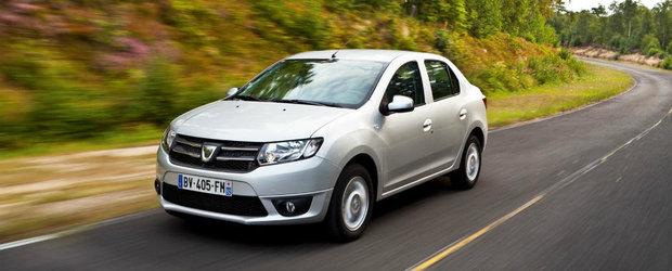 Dacia Logan pierde teren in fata modelelor precum Duster si Ford-ul B-Max