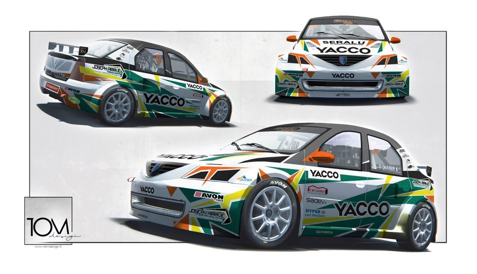 Dacia Logan Rallycross Olymeca