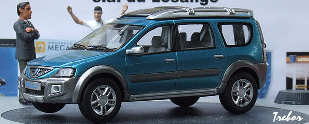 Dacia Logan Steppe in miniatura!