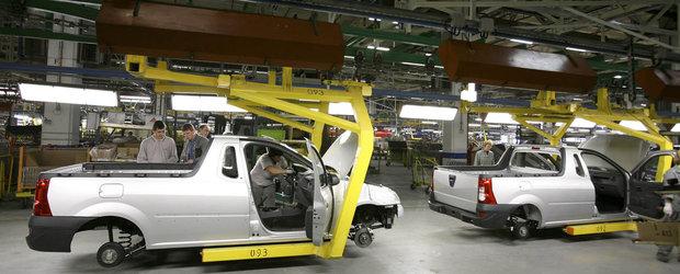 Dacia opreste productia de masini in urma cererii scazute