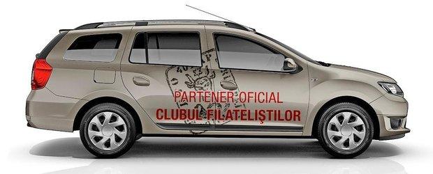 Dacia, partener oficial al Clubului Filatelistilor si Tricotajului din Romania