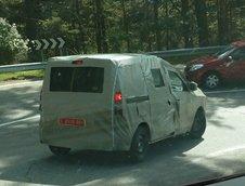 Dacia Popster: primele poze spion cu MPV-ul romanesc