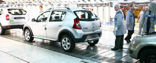 Dacia robotizeaza linia de productie si plateste angajatii sa demisioneze