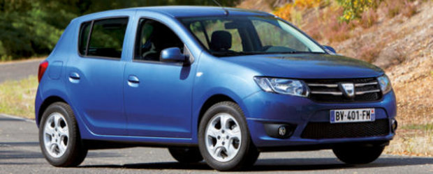 Dacia Sandero 2 - Primele imagini oficiale!