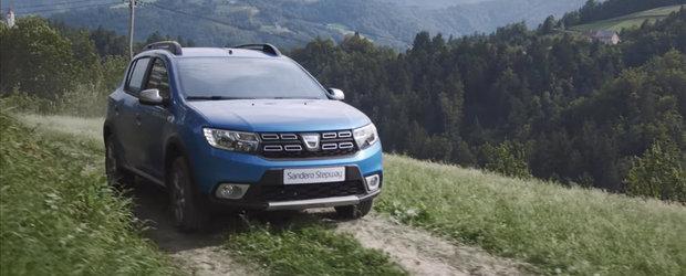 Dacia Sandero Stepway este masina buna la toate. Cel putin asta reiese din cea mai noua reclama