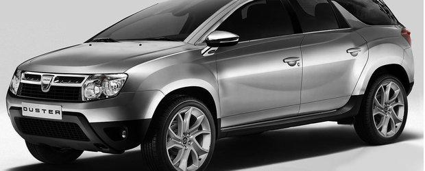 Dacia se gandeste la lansarea unui model Duster cu 7 locuri