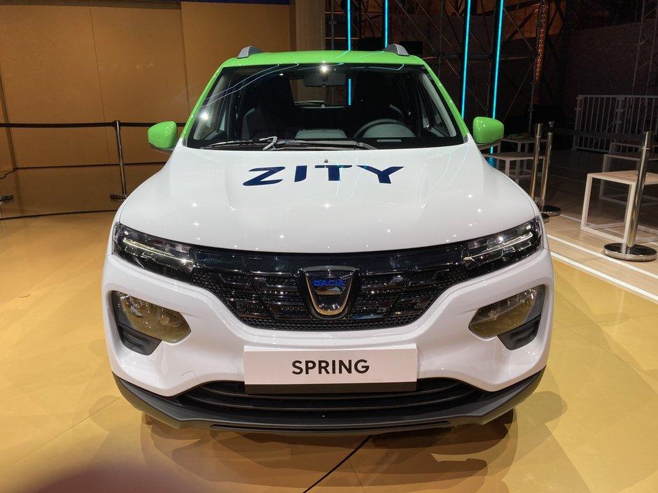 Dacia Spring - Poze Reale