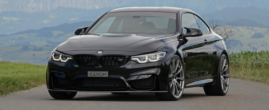 Dahler are o oferta de nerefuzat: 540 de cai si 720 Nm pentru BMW-ul M4 Competition Package