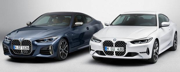 Dai un ban, dar ai... cea mai urata grila din parcare. Cat costa in Romania noul BMW Seria 4 Coupe