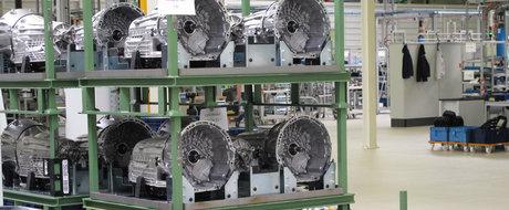 Daimler a demarat productia cutiilor automate cu 9 viteze la Sebes