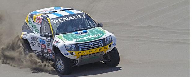 Dakar 2013: Renault Duster, in competitia din America de Sud