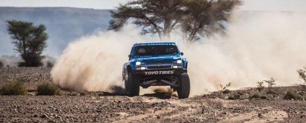 Dakar 2013: un Chevrolet Silverado va lua startul pe 5 ianuarie