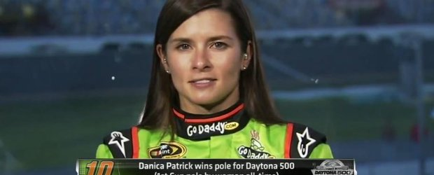 Danica Patrick, prima femeie care pleaca din poleposition la Daytona 500