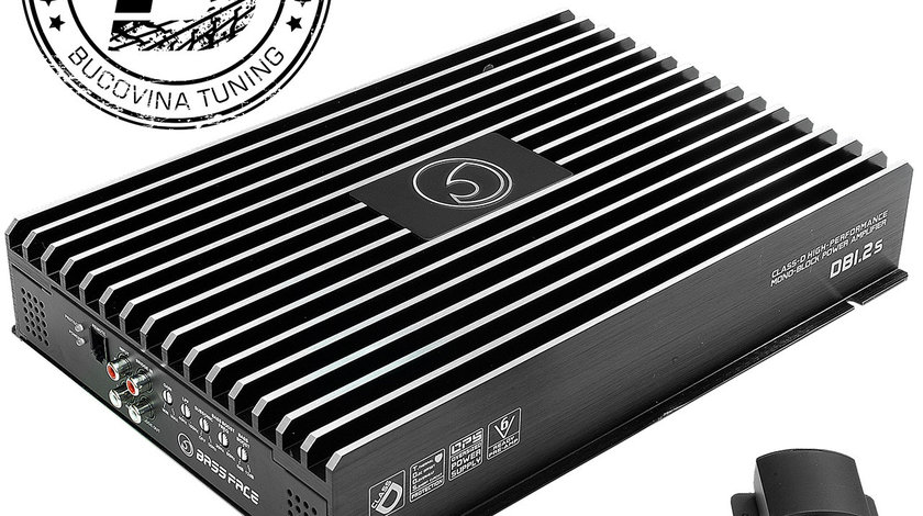 DB2.1s 2/1 Channel Bridgeable Stereo 12v Power Amplifier 540w RMS