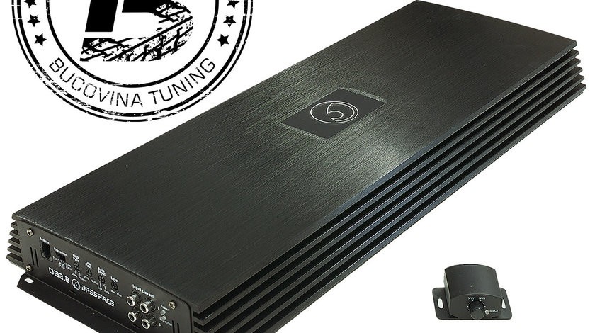 DB2.2 2/1 Channel Bridgeable Stereo 12v Power Amplifier 1240w RMS