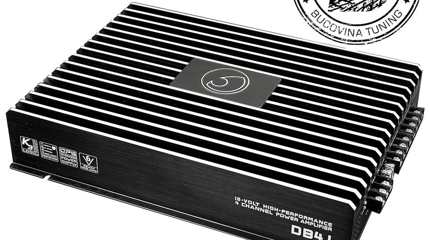 DB4.1 4/3/2 Channel Bridgeable Stereo 12v Power Amplifier 360w RMS
