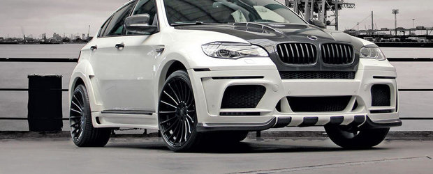 DD Customs modifica un BMW X6 M modificat deja de Hamann