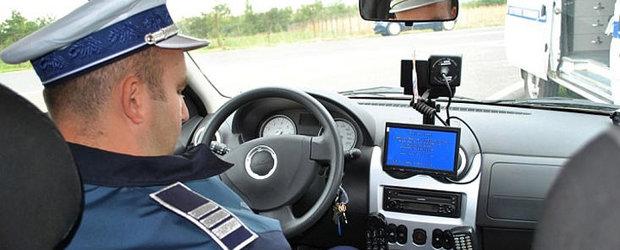 De 1 Mai, politia rutiera va amplasa 500 radare pe drumurile spre munte si litoral