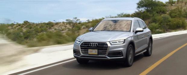 De-abia lansat, noul Audi Q5 a fost deja pus la zid. SUV-ul este cu mult in spatele rivalilor de la BMW si Porsche