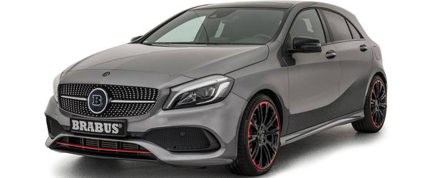 De-acum incolo nu va mai fi cel mai slab Mercedes. Brabus optimizeaza gama A-Class