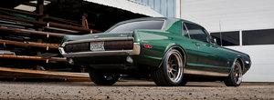 De-afara zici ca-i originala, dar sub capota se schimba totul. Masina din 1968 are motor nou si cutie cu zece viteze