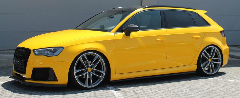 De-afara zici ca-i versiunea RS, dar sub capota se termina totul. Care-i, de fapt, treaba cu acest Audi din 2014