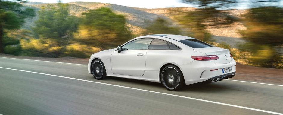 De aratat arata bine, insa cat costa noul Mercedes E-Class Coupe