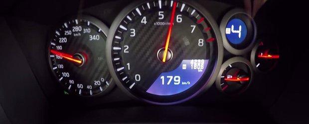 De cand asteptam clipul ASTA! Uite cat de repede accelereaza noul Nissan GT-R Facelift!