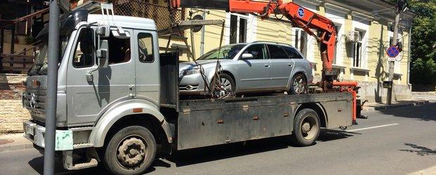 De cand se vor ridica masinile parcate ilegal si cum pot scapa soferii de amenzi