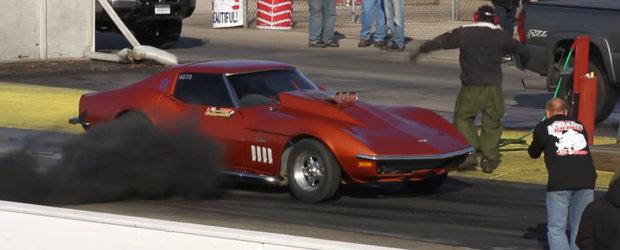 De ce ai pune un motor diesel pe un Corvette din 68?