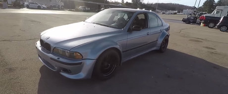 De ce este in stare un BMW M5 cu motor 2JZ de 800 de cai putere