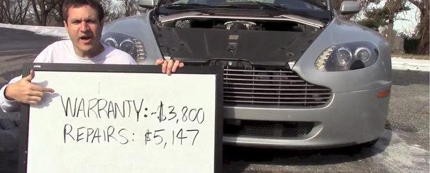 De ce sa NU cumperi niciodata un Aston Martin fara garantie extinsa