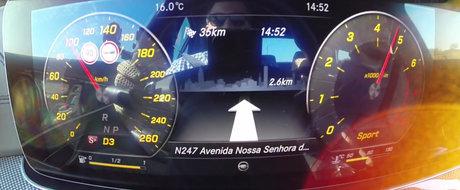 De la 0 la 100 km/h... cat ai clipi. Test de acceleratie la bordul noului Mercedes E400 Bi-Turbo!