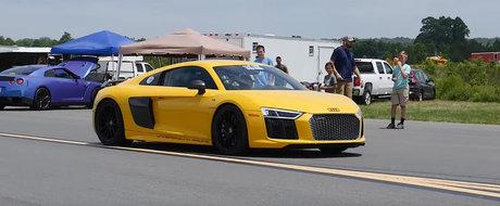 De la 0 la 392 de km/h cu un Audi R8 de 2.500 de cai putere