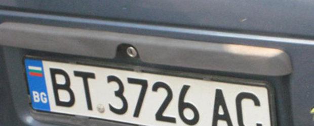 De la 1 iulie: Vanatoare de masini neinmatriculate