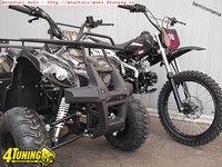 de la 499 euro ATV sau MOTO 125 NOI livrare toata tara