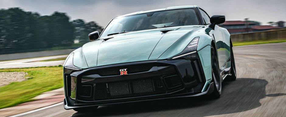 De la concept la model de serie. Acesta este noul GT-R de 1 milion de euro bucata