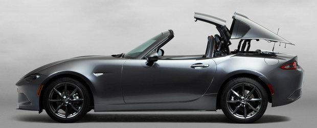 De la Coupe la Cabrio in numai cateva secunde. Cum se 'intampla' decapotarea noii Mazda MX-5 RF