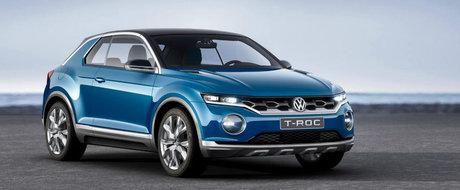 De la mare la mic. Dupa Atlas, Volkswagen pregateste SUV-ul T-Roc pentru 2017