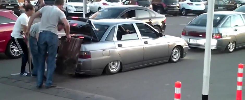 De la rusi vine nebunia! Halloween auto made in Rusia