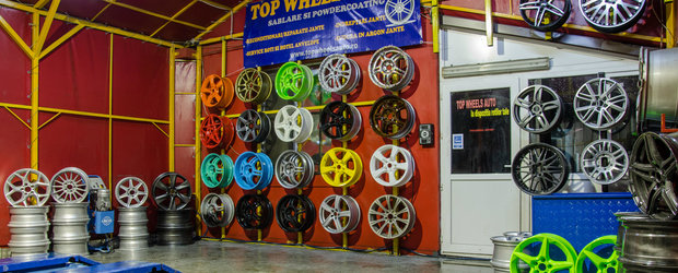 De la simple roti la capodopere din aliaj cu Top Wheels Auto