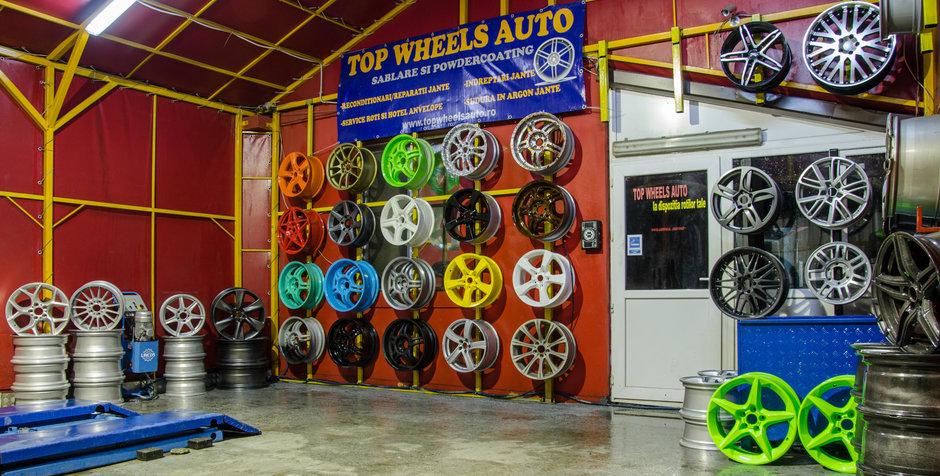 De la simple roti la capodopere din aliaj cu Top Wheels Auto