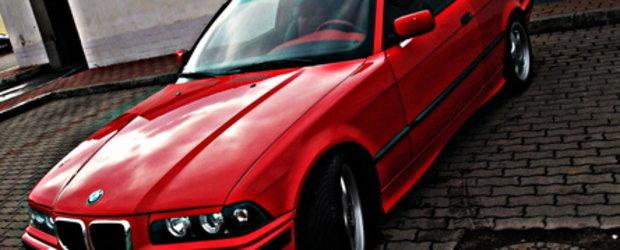 De la spital la bal: BMW E36 by Tiberiu